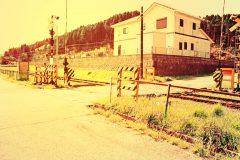 駅,村,晴れ,屋外,夏