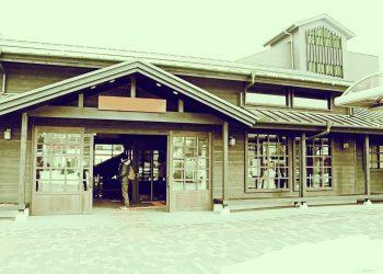 駅,町,曇り,屋外,昭和レトロ