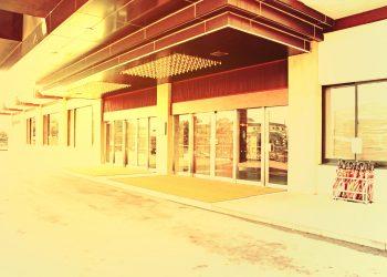 駅,町,曇り,屋外,ロータリー,冬,ヴィンテージ