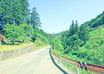道路,村,屋外,夏,晴れ,昭和レトロ
