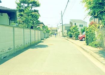 道路,町,晴れ,屋外,夏,昭和レトロ