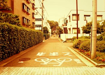 道路,町,屋外,夏,晴れ,ヴィンテージ