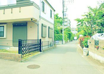 道路,町,屋外,夏,曇り,昭和レトロ