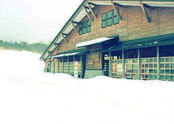 村,ロータリー,冬,屋外,雪,昭和レトロ
