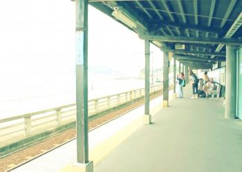 駅,町,夏,屋内,曇り,昭和レトロ