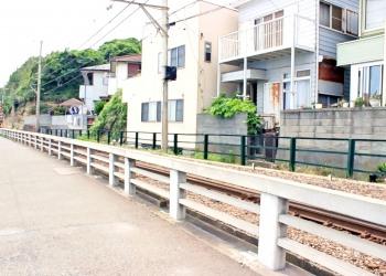 駅,町,夏,屋外,曇り