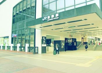 駅前,都市,屋外,冬,昭和レトロ
