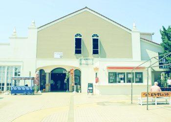 駅,町,屋外,夏,晴れ,昭和レトロ