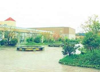駅前,町,屋外,秋,曇り,昭和レトロ