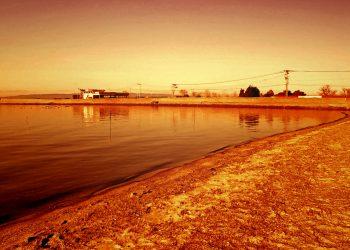 浜辺,町,屋外,冬,晴れ,ヴィンテージ