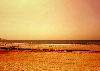 浜辺,町,屋外,春,晴れ,ヴィンテージ