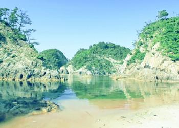 浜辺,夏,屋外,晴れ,昭和レトロ