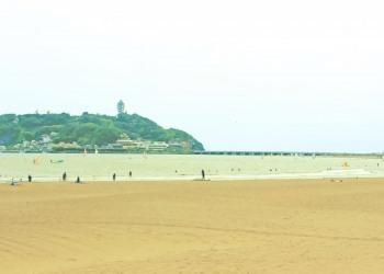 浜辺,夏,屋外,曇り,昭和レトロ