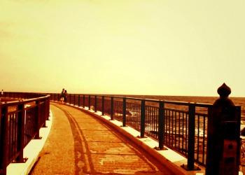 浜辺,春,屋外,晴れ,ヴィンテージ