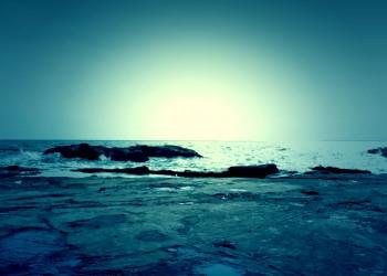 浜辺,夏,屋外,曇り,ホラー