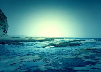 浜辺,春,屋外,晴れ,ホラー
