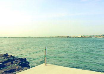 浜辺,村,屋外,夏,晴れ,昭和レトロ