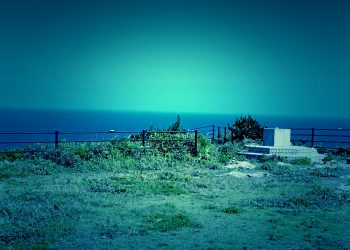 浜辺,展望,漁村,屋外,春,晴れ,ホラー