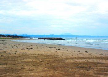 浜辺,村,屋外,秋,晴れ