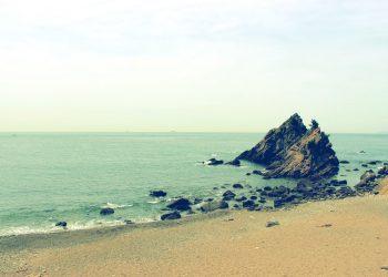 浜辺,村,屋外,秋,曇り,昭和レトロ