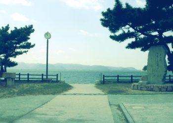 浜辺,漁村,屋外,夏,晴れ,昭和レトロ
