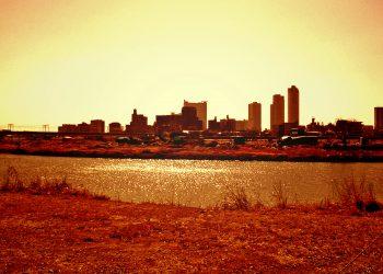川,都市, 屋外, 秋,晴れ,ヴィンテージ