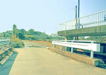 川,橋,屋外,春,晴れ,昭和レトロ