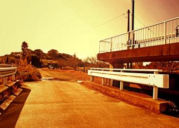 川,橋,屋外,春,晴れ,ヴィンテージ