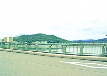 川,町,曇り,屋外,夏,昭和レトロ