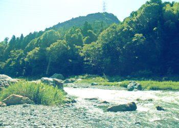 川,アウトドア,屋外,夏,昭和レトロ