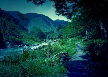 川,アウトドア,晴れ,秋,屋外,ホラー
