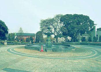 公園,都市,屋外,冬,晴れ,昭和レトロ