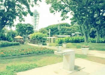 公園,町,屋外,夏,昭和レトロ