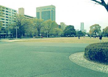 公園,都市,屋外,冬,曇り,昭和レトロ