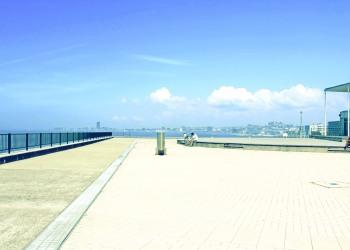 港,町,屋外,晴れ,夏,昭和レトロ
