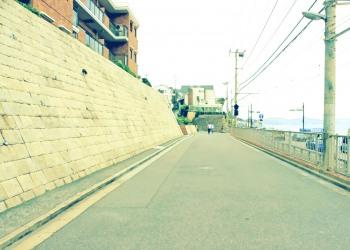 港,町,屋外,夏,曇り,昭和レトロ