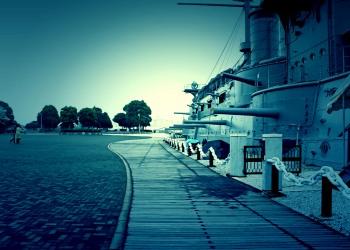 港,町,夏,屋外,曇り,ホラー