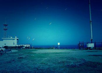 港,町,屋外,夏,晴れ,ホラー