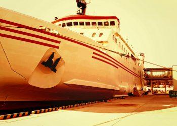 港,船,屋外,夏,晴れ,ヴィンテージ