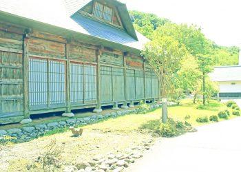 日本庭園,村,和,屋外,夏,晴れ,昭和レトロ