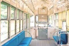 乗り物,バス,夏,屋内