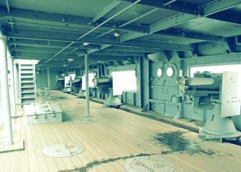 乗り物,戦艦,屋内,曇り,昭和レトロ
