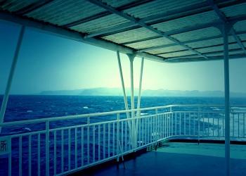 乗り物,船,屋外,晴れ,夏,ホラー