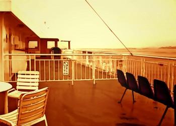 乗り物,船,屋外,雨,夏,ヴィンテージ