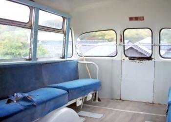 乗り物,バス,屋内
