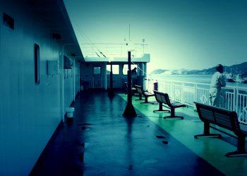 乗り物,船,屋外,夏,雨,ホラー