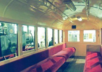乗り物,バス,屋内,夏,昭和レトロ