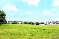 草原, 町, 屋外, 春, 晴れ
