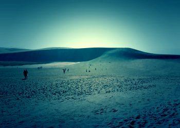 草原,砂丘,アウトドア,屋外,ホラー