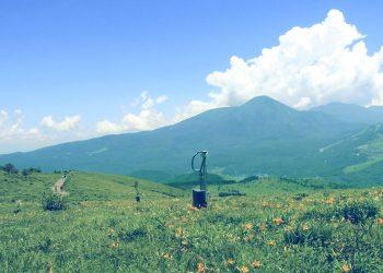 草原,アウトドア,屋外,夏,昭和レトロ
